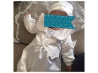Princess custom made & Prince Charming Christening outfits