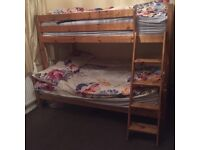 SINGLE AND DOUBLE BUNK BED