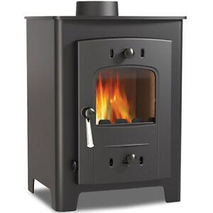 Hamlet Hardy 5 Stove Multi Fuel 4KW Stove Wood Burner 10 Year Warranty UK Made
