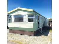 Static caravan holiday home decking inc Morecambe Heysham sea view north west beach