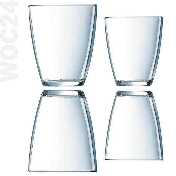 6 Trinkgläser Wassergläser Saftgläser Trinkglas Wasserglas Beistellgläser Gläser