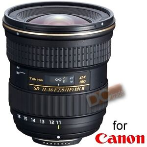 Tokina AF 11-16mm f/2.8 MARK II AT-X Pro DX II 11-16 for Canon