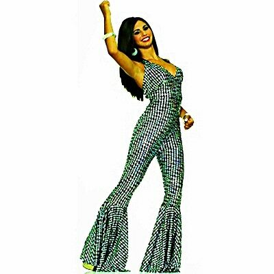 boogI WOMANS COSTUME OR sexy disco fever JUMPSUIT  @MOREEEEE TO - Sexy Disco Jumpsuit Kostüm