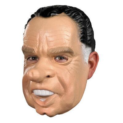 Point Break Masks Halloween (Richard Nixon Mask President Of The United States Adult Point Break)