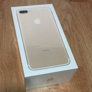 BNIB Unopened iPhone 7 PLUS 32GB Gold, Unlocked
