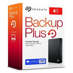 Seagate 4TB Back Up Plus with 2k Movies