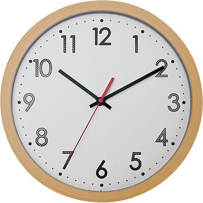 """From Japan Nitori Wall clock Lunarres natural """"Code: 8172518"""" / Tracking SAL"""