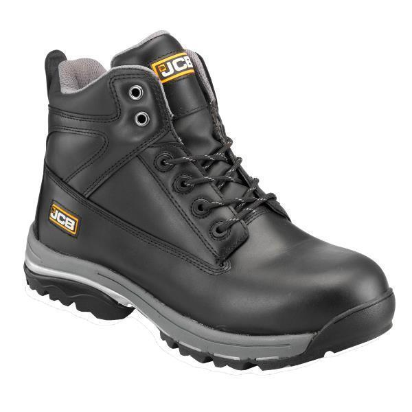 Mens Jcb Leather Waterproof Heavy Duty Safety Work Boots Steel Toe Cap Shoes Sz U2022 U00a342.89 ...