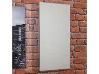 Vasari Stainless Steel Single Door Bathroom Mirror Cabinet 30cm wide by 55cm high - New in Box