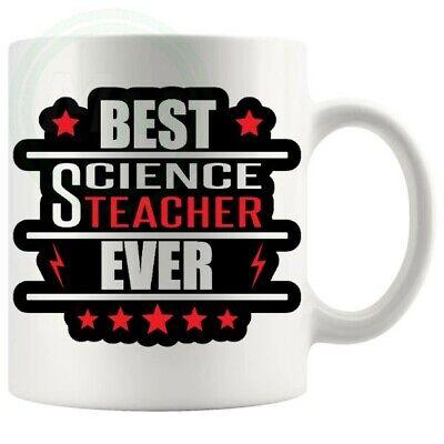 Best Science Teacher Ever Novelty Funny Mug Christmas Birthday