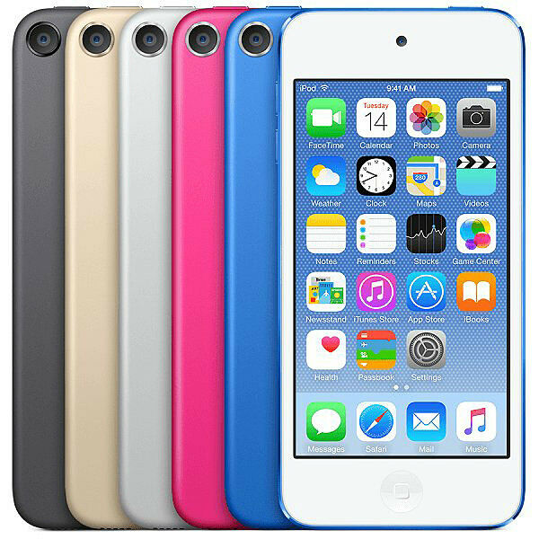 Apple Ipod Touch 32gb 6th Generation BLUE  New Sealed