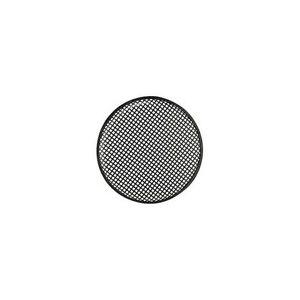 grille de haut parleur ronde m tal noir hp 30 cm ebay. Black Bedroom Furniture Sets. Home Design Ideas