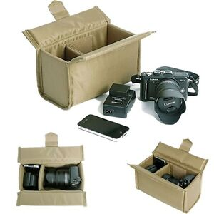 Partition-Padded-Camera-Bags-Inserts-Case-For-Canon-Sony-Nikon-Pentax-DSLR-SLR