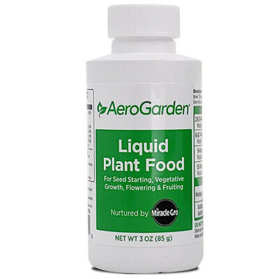 Aerogarden Liquid Plant Food Nutrients 3oz. Hydroponics Nutrients for sale  Shipping to South Africa