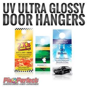 Custom Door Hanger Printing | Advertisements That Hangs | PixoPerfect.com