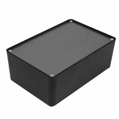 Plastic Project Box With Aluminum Lid - 6 X 4 X 2.1