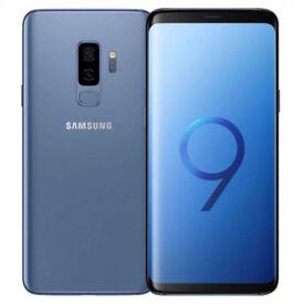 SAMSUNG S9+ PLUS 128GB BRAND NEW SEALED UNLOCKED CORAL BLUE