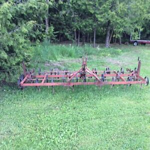 S Tang 10' Cultivator