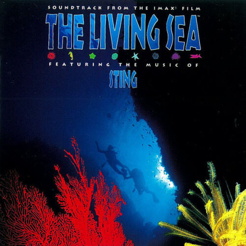 Sting cd The Living Sea Soundtrack Sigillato New Mint Sealed, Cd With Booklet