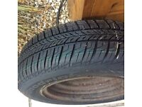New 165/70 R13 tyre and wheel - bargain!