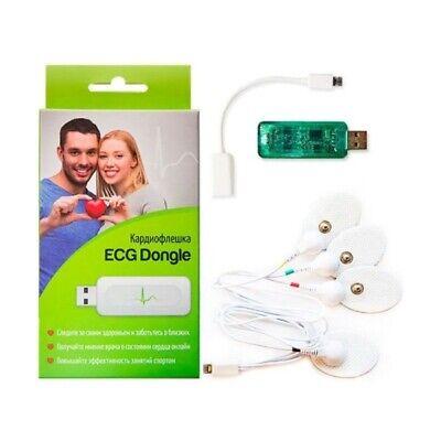 Ecg Dongle Usb Cardio Portable Electrocardiogram Heart Monitor For Ios Android