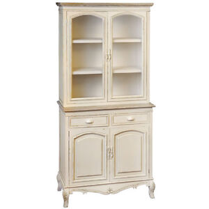 NEW-SHABBY-CHIC-COTTAGE-COUNTRY-CREAM-GLAZED-KITCHEN-DRESSER-CUPBOARD-CABINET