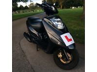 YAMAHA VITY 125cc SCOOTER 11MOT. MAY SWAP FOR CAR, OFFERS.