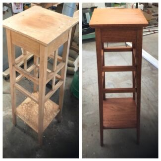 Furniture restoration and cabinetry work