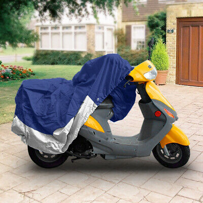 "NEW SCOOTER MOPED COVER FITS VESPA SUZUKI HONDA YAMAHA STORAGE COVERS 80"" LENGTH"