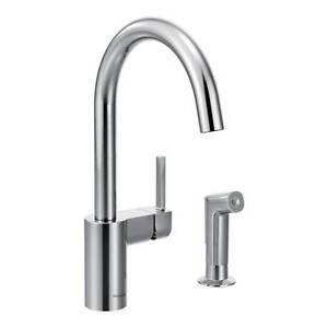 Moen Align Kitchen Faucet with side spray
