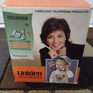 Unident cordless phone model number CEZA 1998 London Ontario image 1