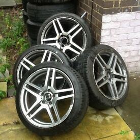 Quick Sale Needed For My AMG Look A Like 18' Alloys Wheels Only £300(offers welcome)