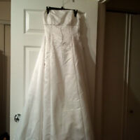 Corset Back Wedding Dress - NEW