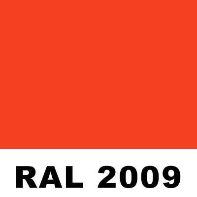 Ral 2009 Traffic Orange Powder Coating Paint - New 1lb