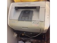 Hp laserjet printer with cartridges