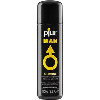 Pjur Man Silicone 8.5oz - Concentrated Long-Lasting Personal Lubricant Lube](Personalized Mens Pajamas)