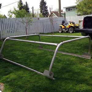 Alluminum boat rack fits Ford or older chev long box
