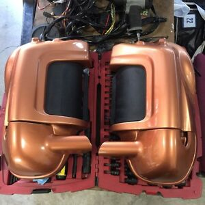 2008 Harley Ultra Classic adjustable vented lower fairing
