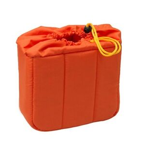 HORUSBENNU-HD-211218-Orange-Camera-Lens-Insert-Partition-Padded-Bag-Case
