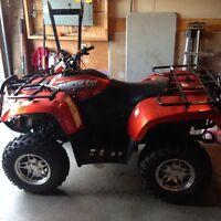 2006 arctic cat ATV 700efi 4x4