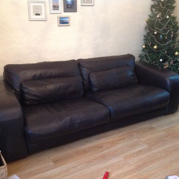 Italian Leather Sofa Gumtree