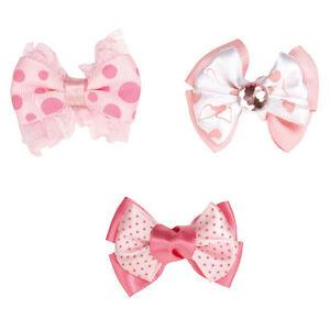 Molly Bows Lots 1 3 12 Ribbon Rubber Band Bow Gemstone