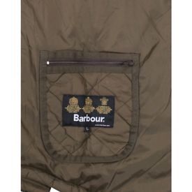 BARBOUR QUILTED JACKET. L