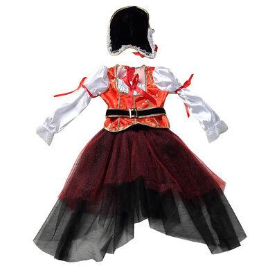 Kinder Halloween Kostuem, Tanzkleid, Cosplay, Pirat, Kinderbekleidung XL - Piraten Tanz Kostüme