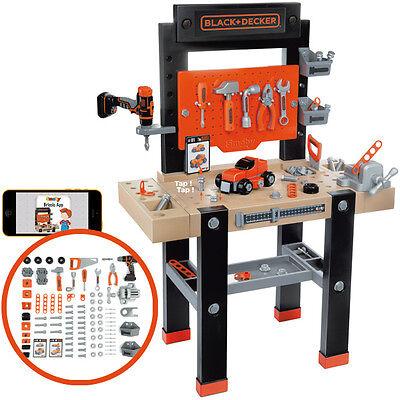 Smoby Black & Decker Werkbank Bricolo Center Kinder Spielzeug Kinderwerkbank NEU