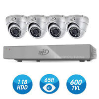 New - COMPLETE CAMERA WITH SMART DVR SECURITY SYSTEM