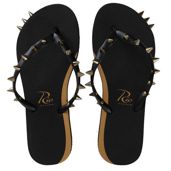 Women Black Flip-Flops Thong Flats Sandals Beach Casual Toe Slippers - NEW 1