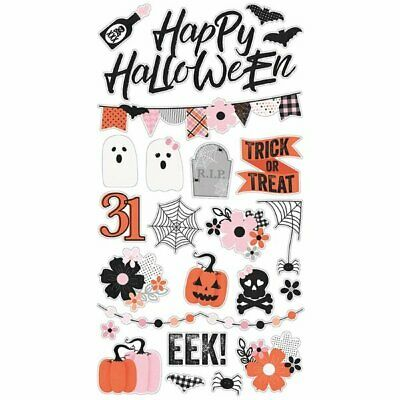 Happy Halloween Story (Simple Stories - Happy Haunting Collection - Halloween - Chipboard)