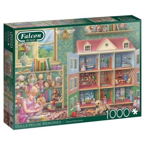 Jumbo 1000 Piece Jigsaw Puzzle - Dolls House Memories