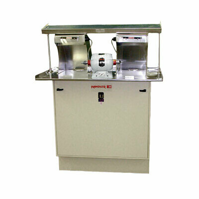 Handler 60fc-ts Special Polishing Unit Dental Lab With 26 Red Wing Lathe